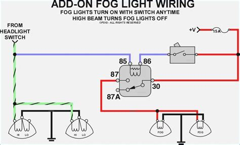 fog lights wiring diagram vivresaville