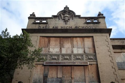 modern day high school modern day ruins crozier tech dallas high school