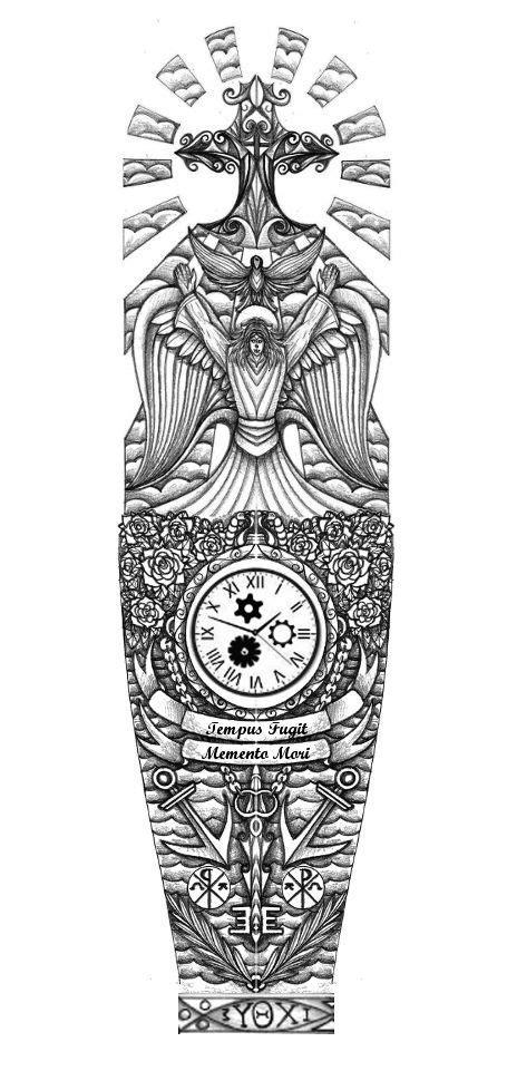 religious full sleeve tattoo design  thehoundofulster tattoo idea tattoos pinterest