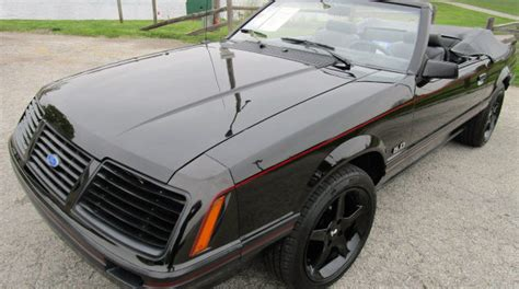 car engine manuals 1983 ford mustang on board diagnostic system 1983 ford mustang glx convertible g165 indy 2016