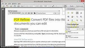 Adobe reader xi pdf annotations youtube for Pdf document versions