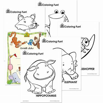 Critter Coloring Worksheets Zone