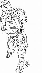 Coloring Pages Mummy Printable Halloween Scary Realistic Mummies Getcoloringpages Bestcoloringpagesforkids sketch template