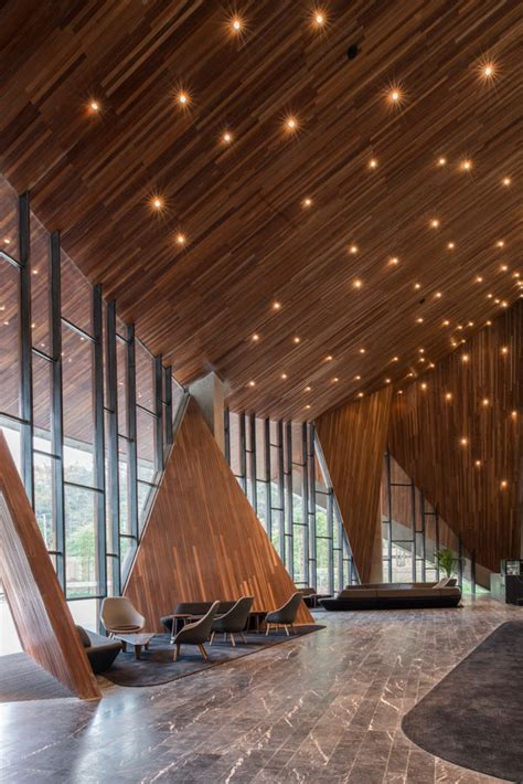 hotel lobby design architecture ruff well water resort aim architecture interiors ceiling pinterest resorts architecture