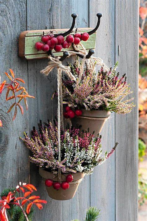 Herbstdeko Für Balkon by Autumn Decoration Outdoor Herbst Deko Mit Heide F 252 R