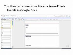 Save powerpoint to google docs for Google docs share powerpoint