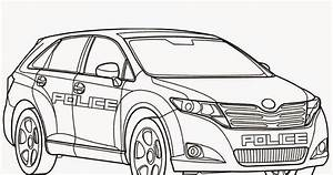 security systems coloring pages police car With flickering light ii