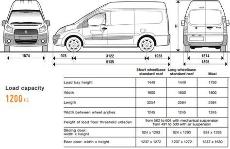 Dimensioni Interne Fiat Scudo by Recommended Innolift Model For Fiat Scudo 3rd