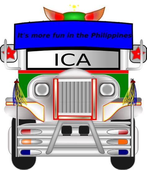 philippines jeepney vector jeepney clip art at clker com vector clip art online