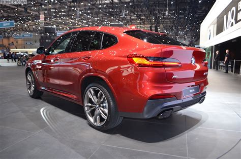 New Bmw X4 by 2018 Geneva Motor Show New Bmw X4 In Flamenco