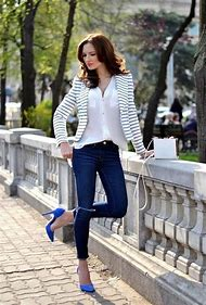 Jeans Business Casual Wear for Women