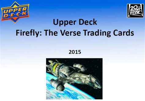 icv2 firefly the verse trading cards