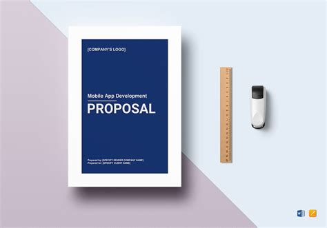 mobile app development proposal template  word google