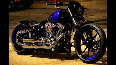Harley Davidson Customs by Harley Davidson Fxsb Softail Breakout Custom