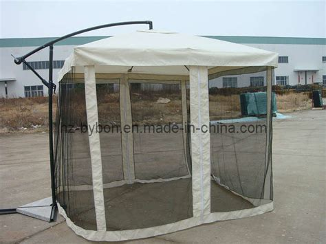 Offset Patio Umbrella With Mosquito Net by China Patio Offset Umbrella With Removable Mosquito Screen