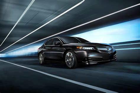 2015 acura tlx sedan makes world premiere in new york has up to 290hp 48 pics videos