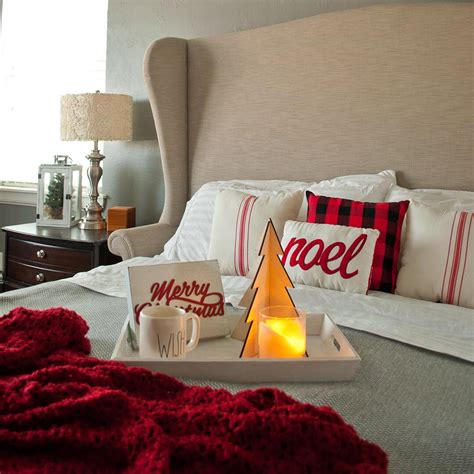 christmas bedrooms 40 cute and creative christmas bedroom decor to try