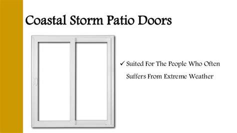 different types of patio doors