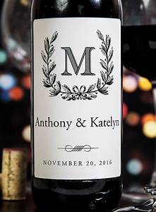 personalize wine labels for your special day romantic With custom wine labels for weddings