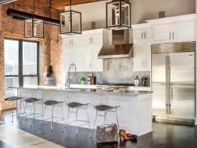 cuisine style loft cuisine ouverte sur le salon 9 idées d