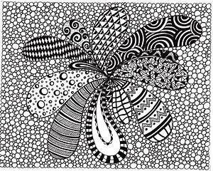 7 Best Images of Printable Black And White Drawings - Ink ...