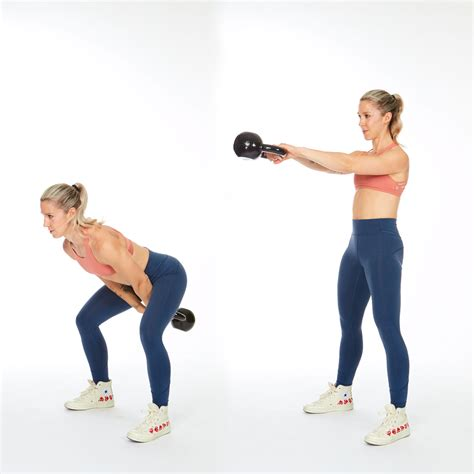 workout kettlebell shoulder swing only routine shape body ever ll need
