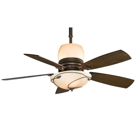 ceiling fan with uplight and downlight fanimation hf7200bz bronze 54 quot 5 blade ceiling fan
