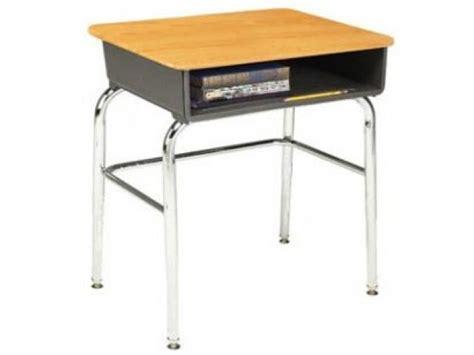 school desk for open front school desk woodstone top u brace acf