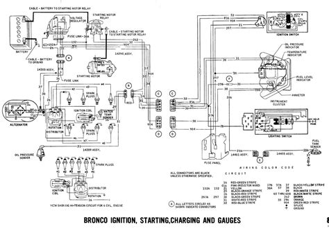 Bronco Wiring Diagrams Ford Truck Fanatics