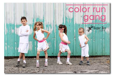 what to wear to color run color run sugar bee crafts