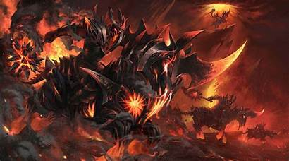 Chaos Knight Loading Screen Burning Nightmare Wallpapers