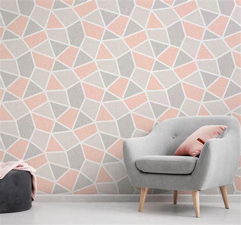 B And Q Bedroom Wallpaper by Crown Geometric Wallpaper Luxury Textured Vinyl Modern