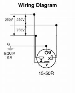 15 Wiring Diagram : leviton 8450 50 amp 250 volt nema 15 50r 3p 4w flush ~ A.2002-acura-tl-radio.info Haus und Dekorationen