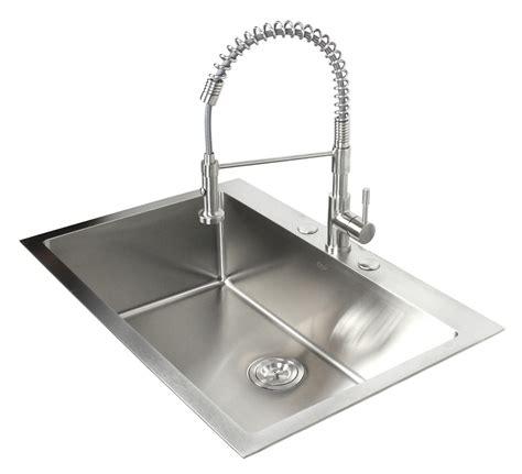 best stainless steel sink 33 inch top mount drop in stainless steel kitchen sink