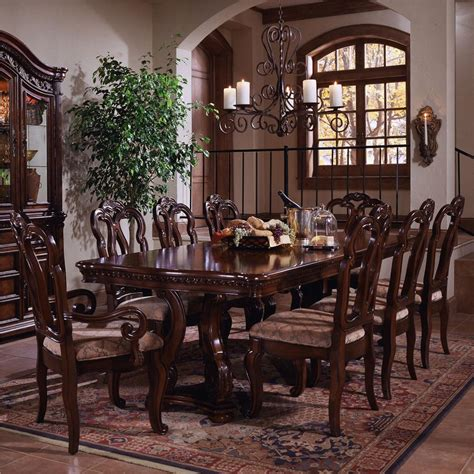 Samuel Lawrence San Marino Double Pedestal Dining Table. Ashley Dining Room Furniture. Decorative Garden Border Edging. Rooms To Go Recliners. Theater Chairs Rooms To Go