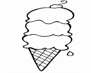 Ice Cream Scoops Coloring Pages - ClipArt Best
