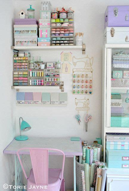 My Craft Room Desk  Idées Pour Ateliers En 2018