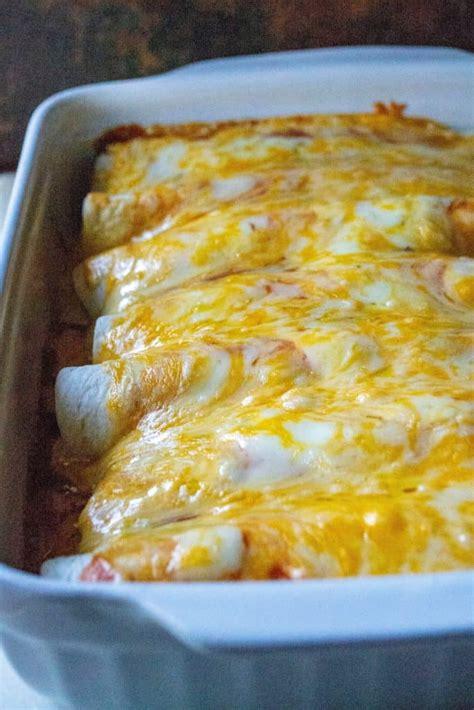 easy chicken enchiladas  wicked whisk