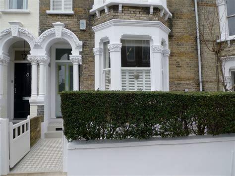 Classic Victorian Front Garden Design Battersea Clapham ...