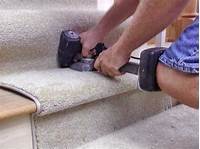 how to install carpet on stairs Carpet Installation With Staples and Other Techniques