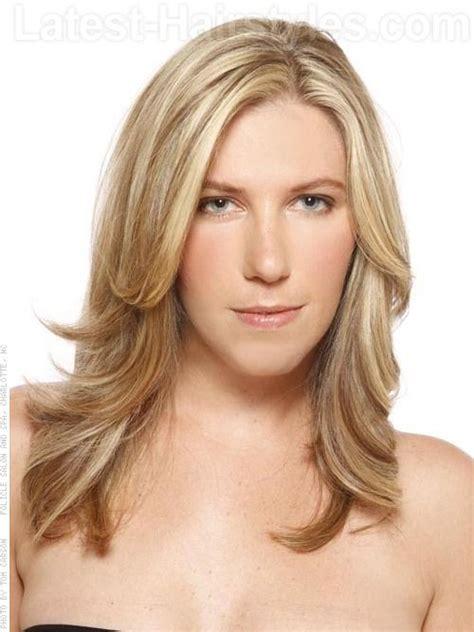 long blonde casual layers  layers cut  hair
