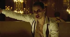 "Jared Leto channels The Joker to accept ""Best Villain ..."