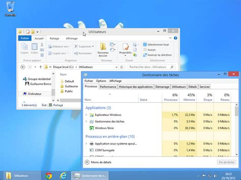 windows 8 1 bureau comment avoir un bureau windows 8