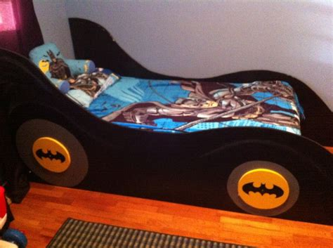 batmobile toddler bed batmobile bed if you could make holes in the sides and