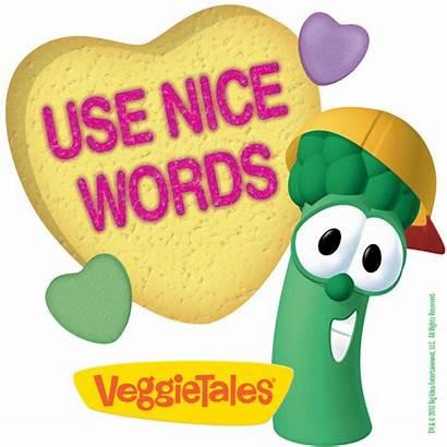 Veggietales Words Nice Another Lettuce Clipart Veggie