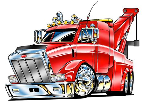 kenworth tow trucks clipart clipartix