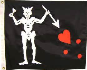 Blackbeard Pirate Flag