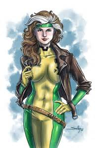 Rogue X-Men Drawing