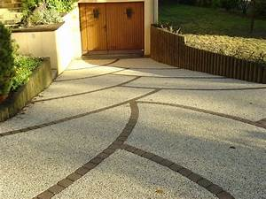 les 25 meilleures idees de la categorie allee en beton sur With allee de garage en beton