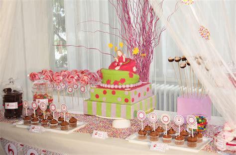 deco anniversaire et les f 233 e une sweet table d anniversaire f 233 233 rique et color 233 e